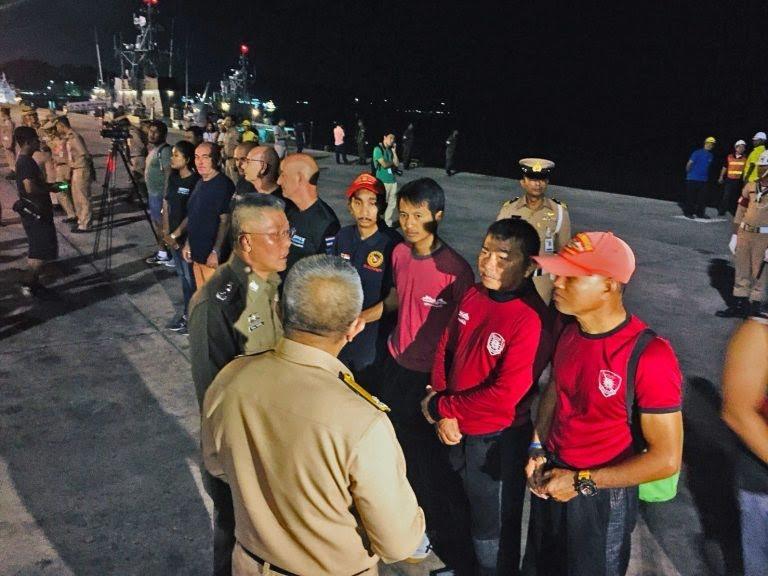 ปฏิบัติการกู้ร่างผู้เสียชีวิตรายสุดท้าย (รายที่ 47) ใต้ท้องเรือฟินิกส์ | News by The Thaiger