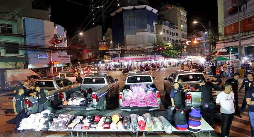 2,000 fake goods seized, 8 arrested in Chinatown raid | News by The Thaiger
