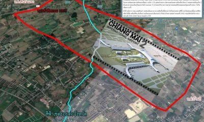 Land expropriation for new Chiang Mai airport expected to start next month | The Thaiger