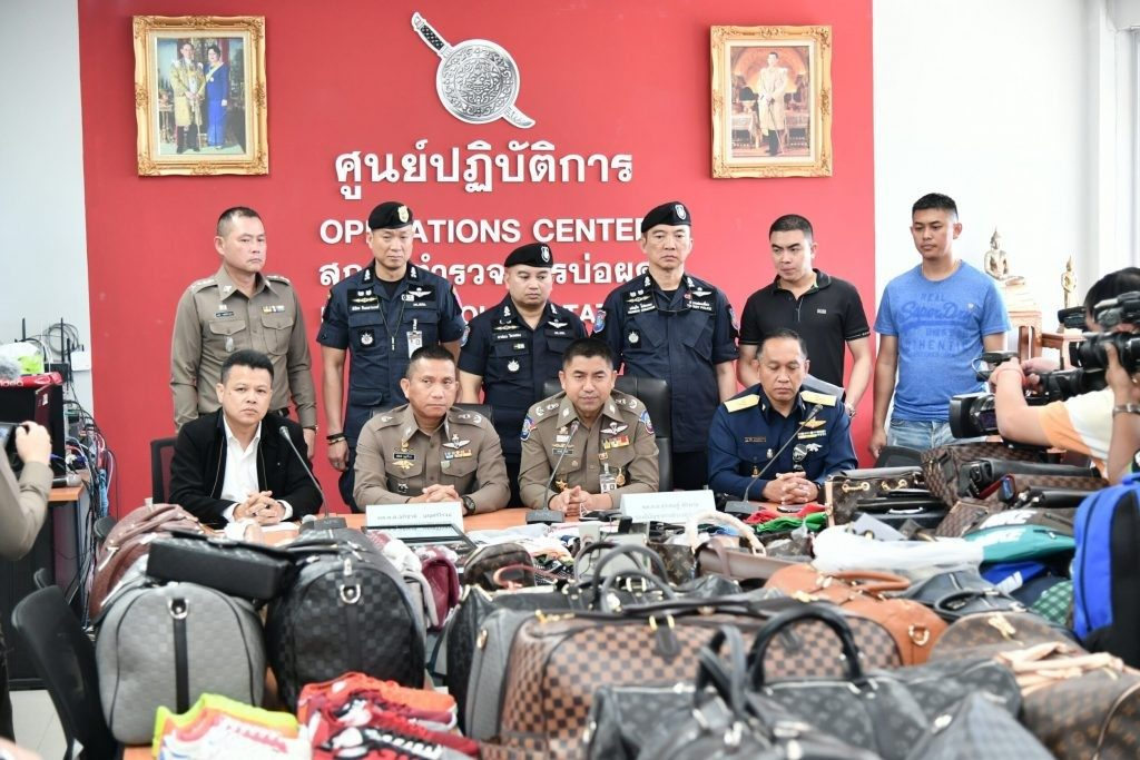 7,000 pirated items seized in Samui sting | News by The Thaiger