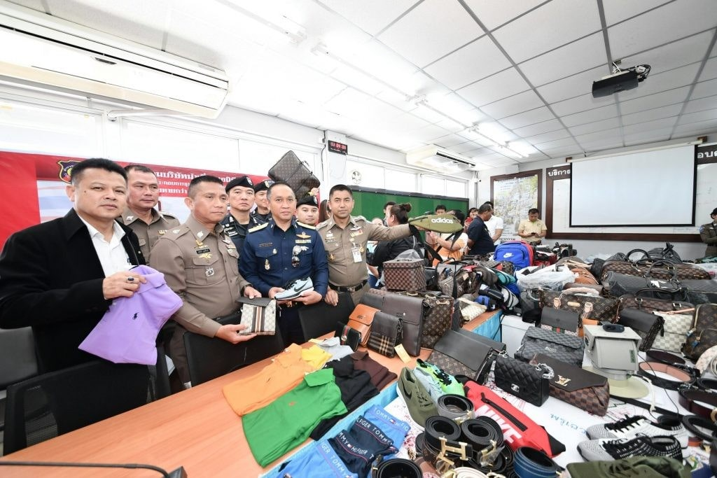 7,000 pirated items seized in Samui sting   The Thaiger