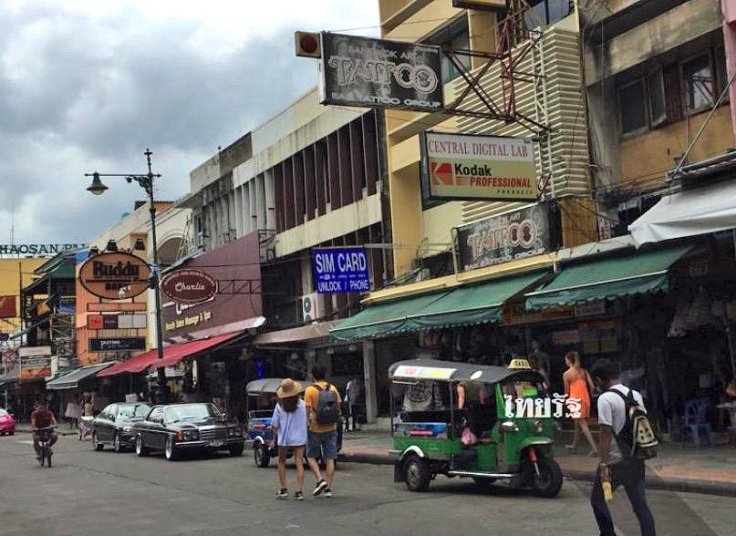 Tourists give a thumbs-down to the 'new' Khao San Road | News by The Thaiger
