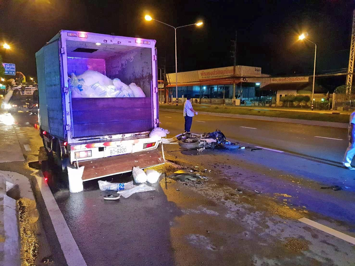 Big-bike rider killed on Phuket road | The Thaiger
