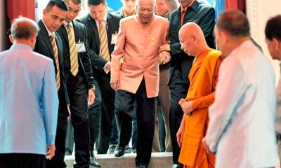 Prem turns 98, pays visit to Supreme Patriarch | The Thaiger
