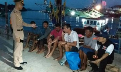 British yacht catches fire – rescued off Phuket | The Thaiger