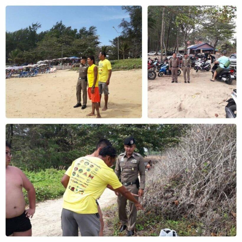 Chalong Police warn of beach thief at Nai Harn | The Thaiger