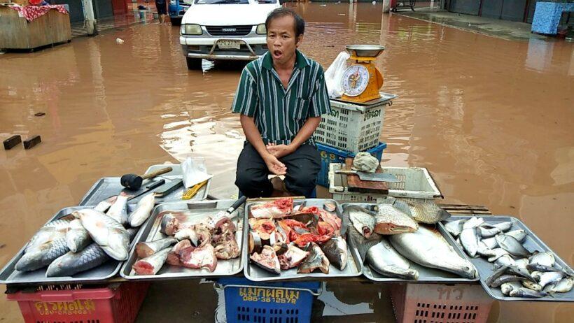 Heavy rains leave provinces on flood alert | The Thaiger