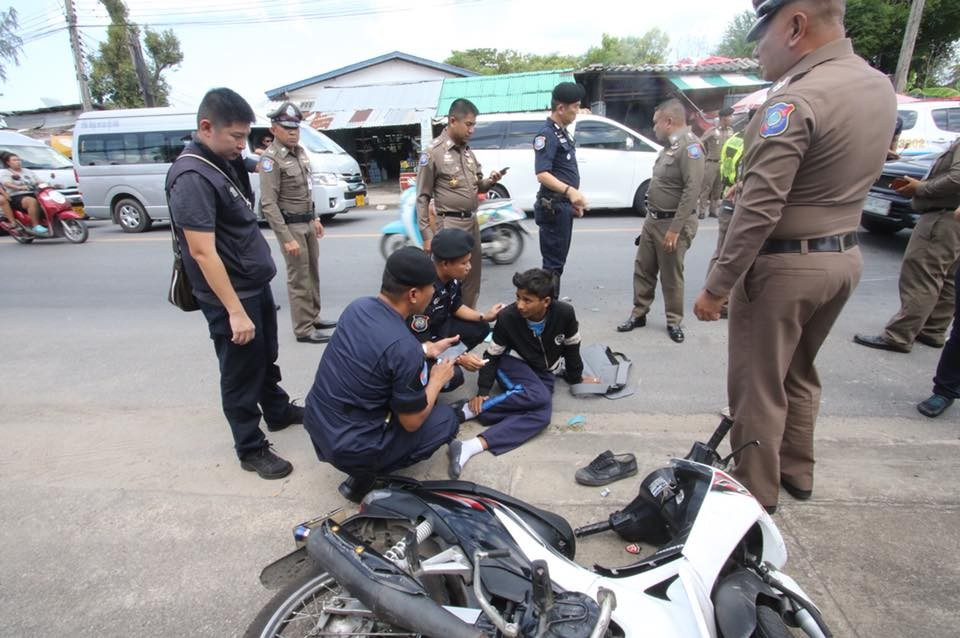 'Big Joke' stops to help Phuket hit and run victim | News by The Thaiger