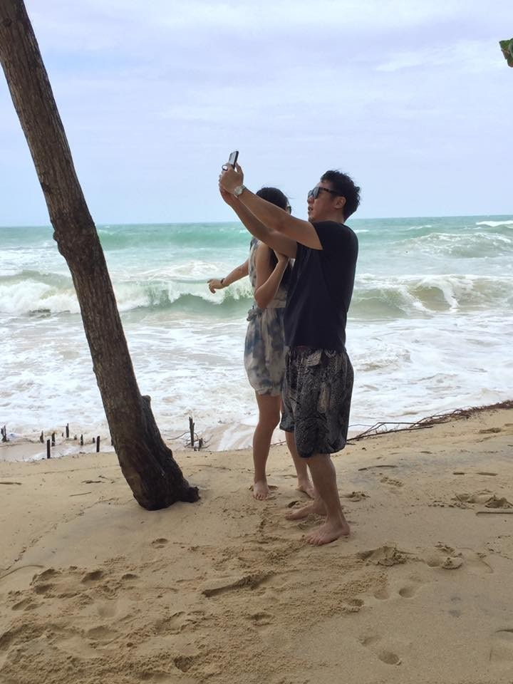 Big surf and high tides pound Phuket's west coast beaches   News by Thaiger