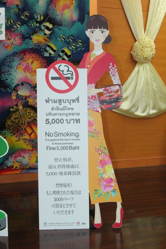 Old Phuket Town Sunday market launches no-smoking campaign | News by The Thaiger