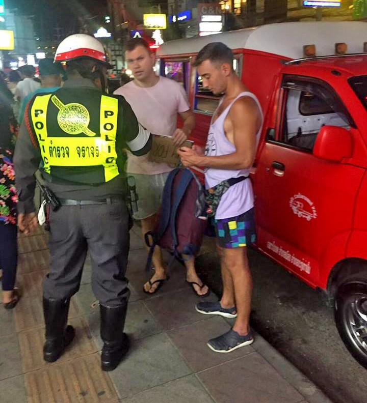 UPDATE: East Euro tourists charged for begging, at it again in Patong... and Krabi | News by The Thaiger