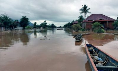 Mekong breaks its banks flooding seven Thai provinces | The Thaiger