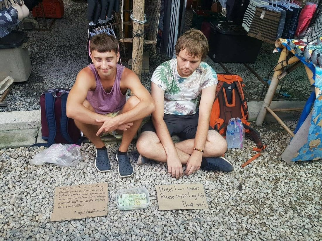 UPDATE: East Euro tourists charged for begging, at it again in Patong… and Krabi | The Thaiger
