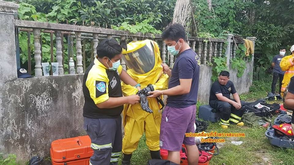 One dead after ammonia leak at Phang Nga ice-factory | The Thaiger
