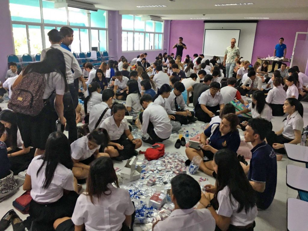 Prince of Songkla University students send strong safe-sex message | News by The Thaiger