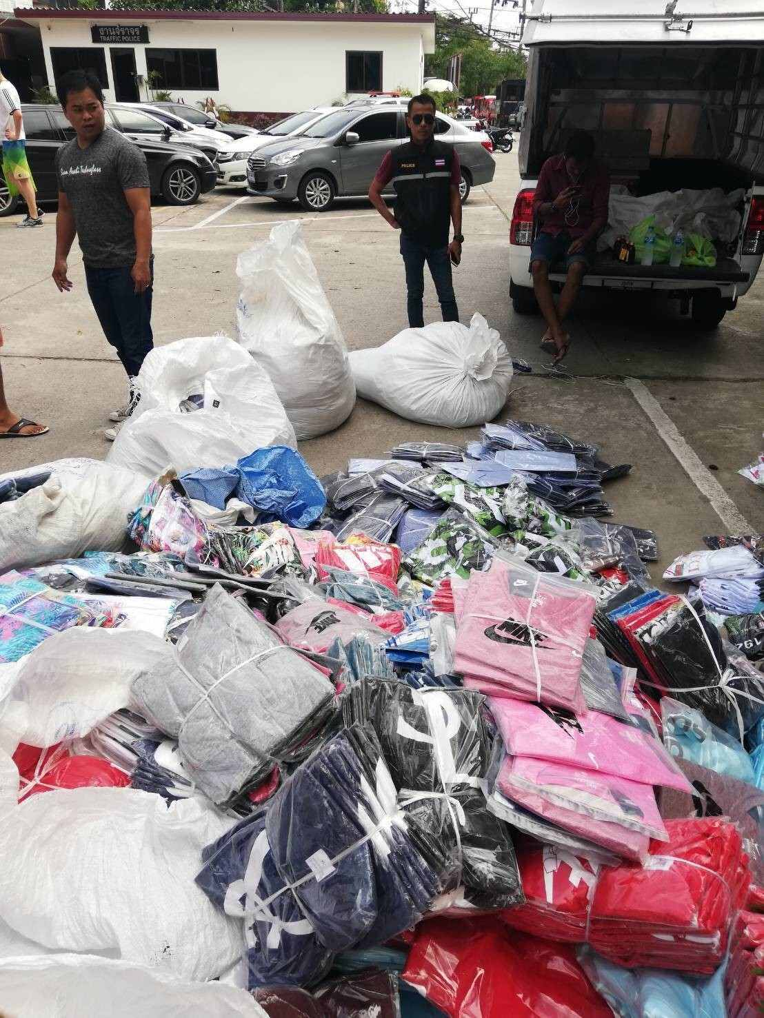 More fake goods seized in Patong | The Thaiger