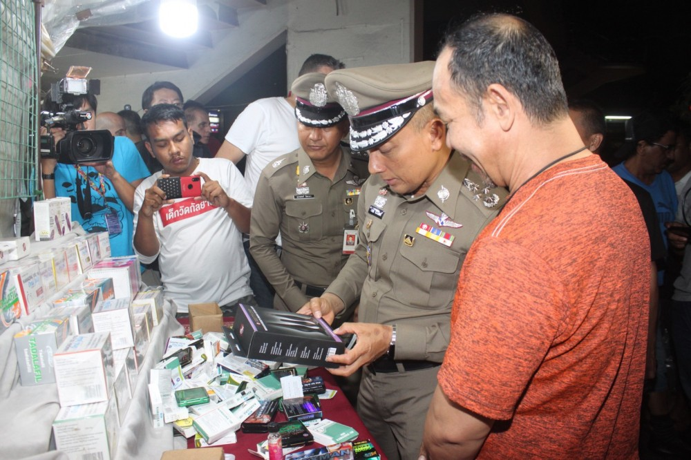 Police find 15 stalls selling illegal 'libido booster' drug in Khlong Toey Nua | The Thaiger