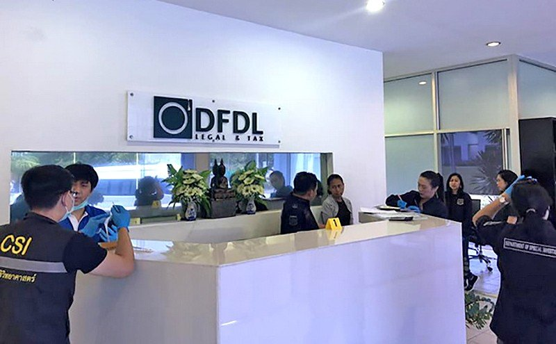 DSI crackdown on foreigners using Thai nominees: Law firm raided in Bangkok, Phuket and Samui | The Thaiger