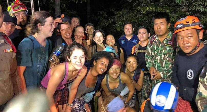 11 US exchange students were lost but now they're found | The Thaiger