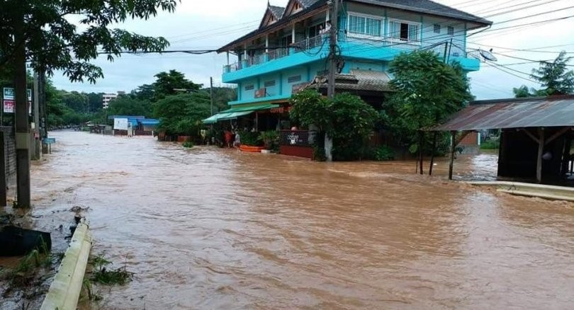 Nan, Chiang Mai and Chiang Rai report damage from current floods | News by The Thaiger