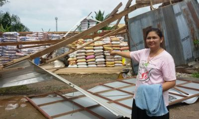 Storm damaged houses and shops in Krabi | The Thaiger