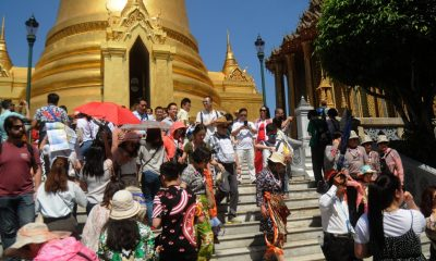 Tourist arrivals up again – 11 percent rise year on year | The Thaiger