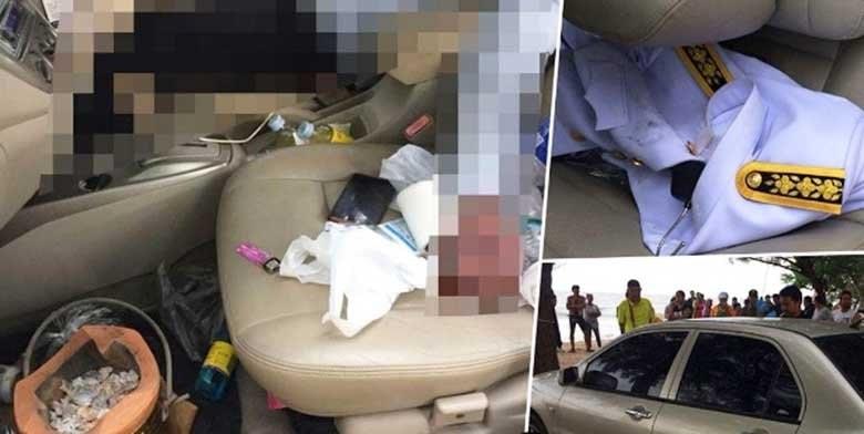 Public servant found dead in car near Ch-aam Beach | The Thaiger