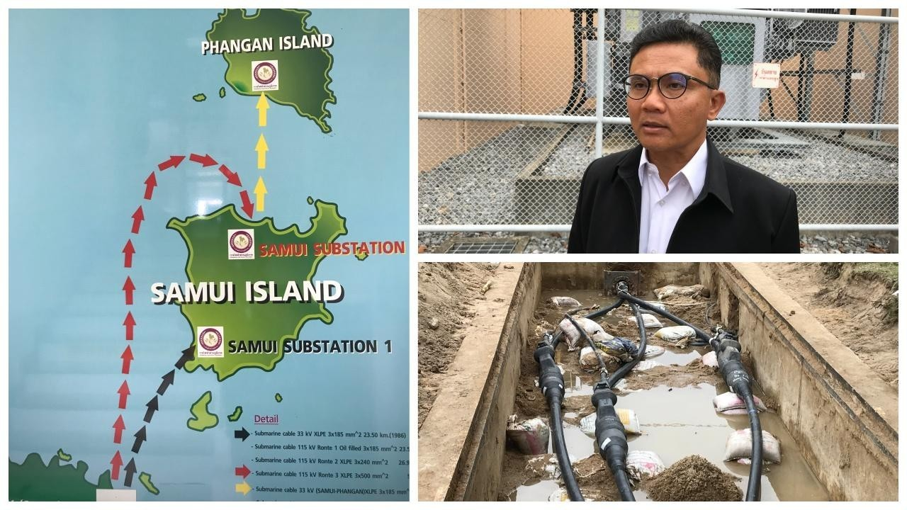 Electricity glitches for Samui and Koh Phangan   The Thaiger