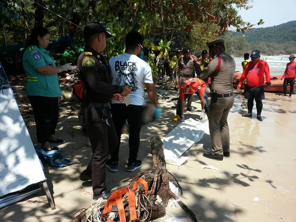 Body found floating off Kata Beach identified as Surat Thani man | News by The Thaiger