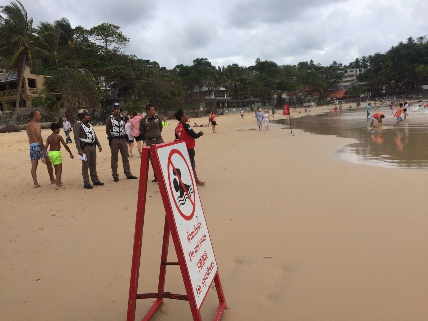 Indian tourist dies after being pulled out of the surf at Kata Beach   The Thaiger
