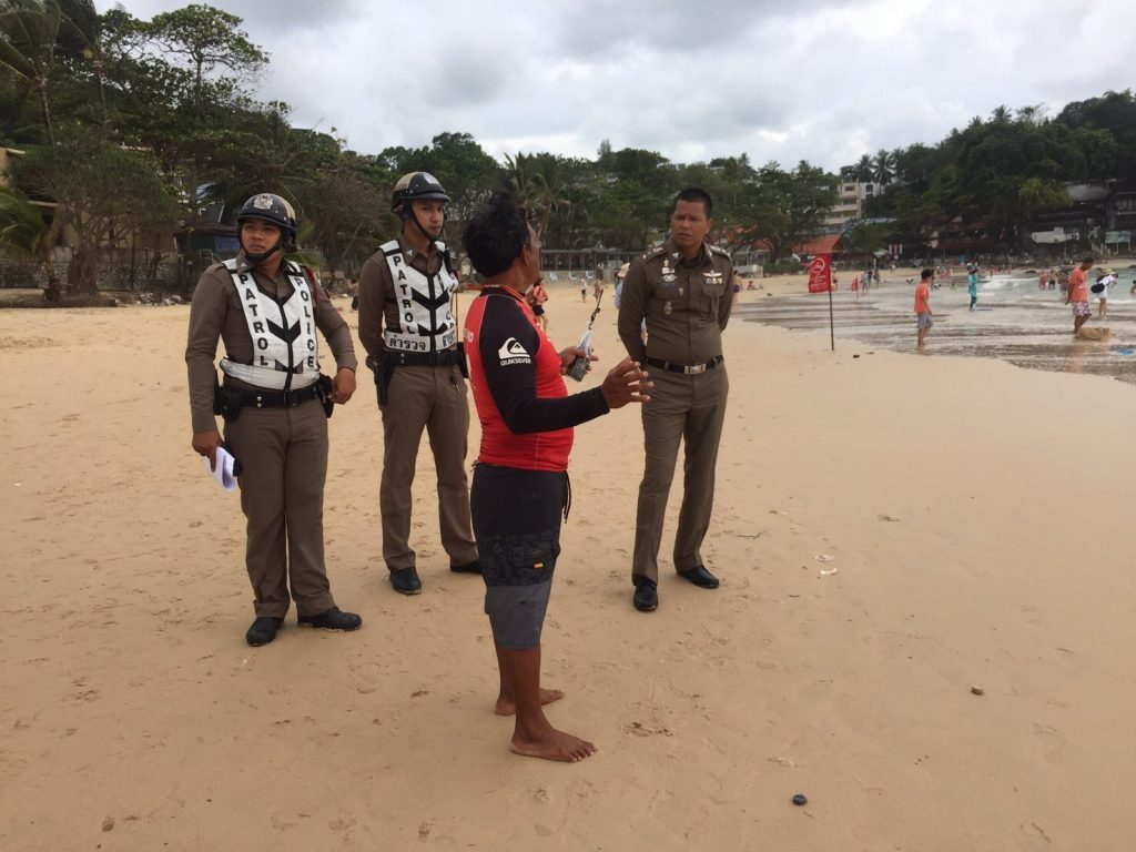 Indian tourist dies after being pulled out of the surf at Kata Beach   News by The Thaiger