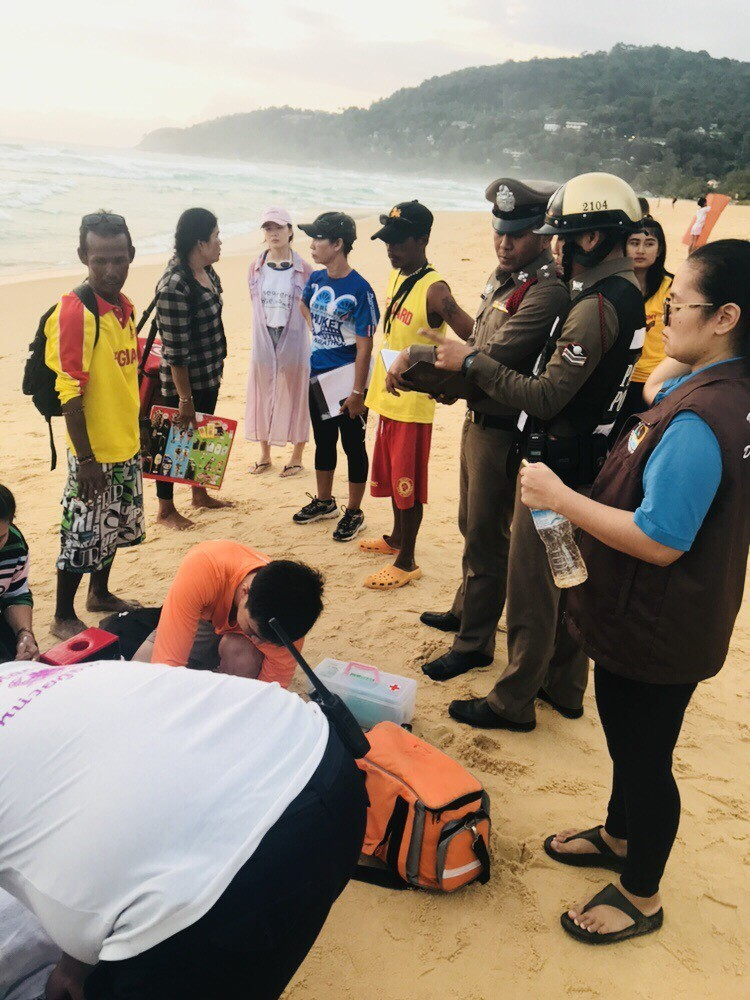 One rescued, one missing after rescue at Karon Beach   News by The Thaiger