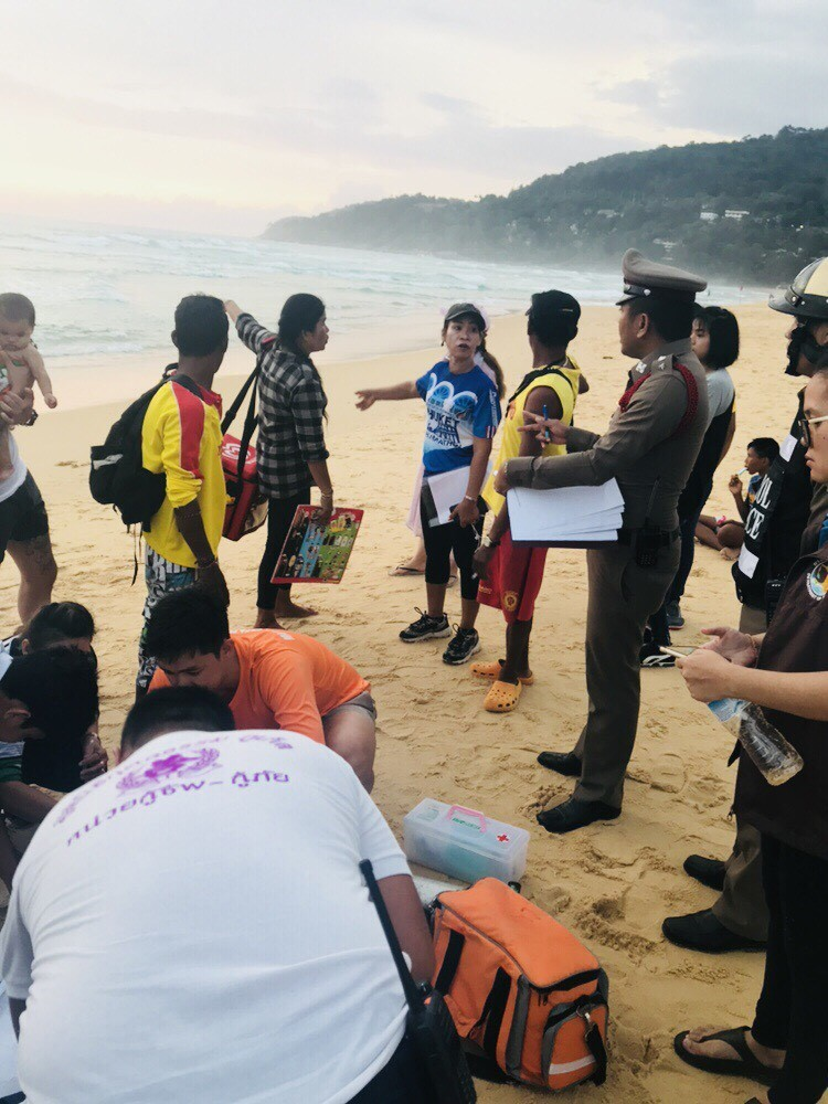 One rescued, one missing after rescue at Karon Beach   The Thaiger
