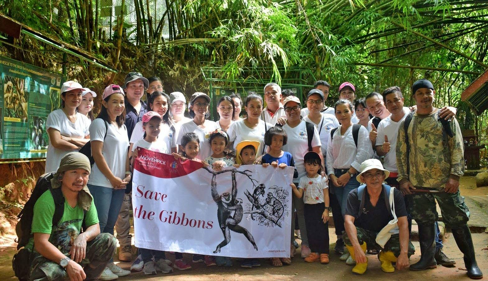 Mövenpick Resort & Spa Karon Beach adopts a gibbon from Phuket's Rehabilitation Centre | The Thaiger