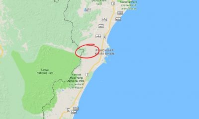 Four killed and two badly injured in Prachuap Khiri Khan head-on   The Thaiger