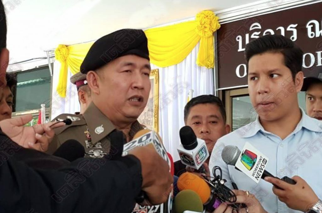 """""""If you resist arrest, you will be shot"""" - Chonburi police chief 