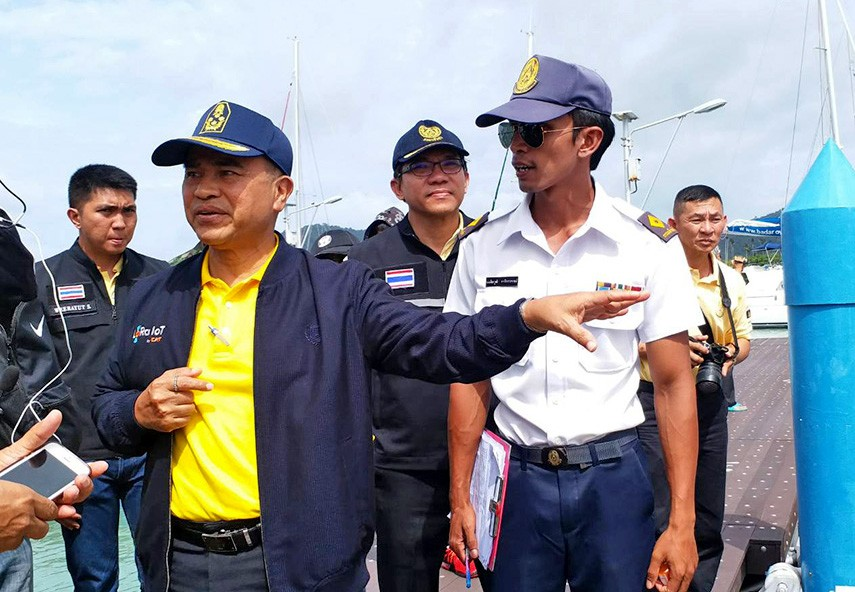 The Thai internal security command steps in to take over marine safety in Phuket | News by The Thaiger