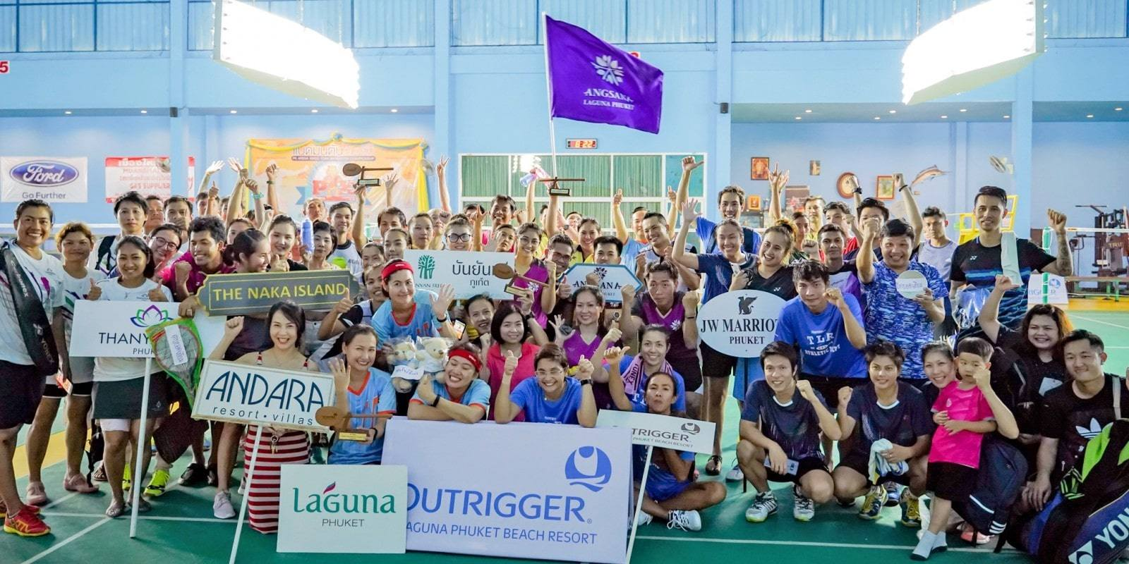 Hotel badminton teams raise funds for Phuket school | The Thaiger