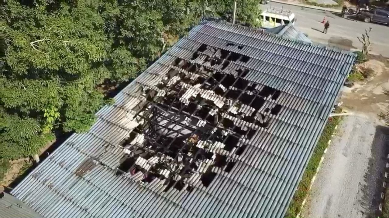 Arson attack on Yala electricity building and vehicles | The Thaiger