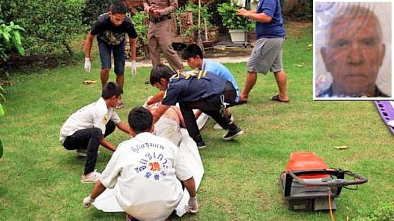 English retiree electrocuted while mowing his lawn in Khon Kaen | The Thaiger