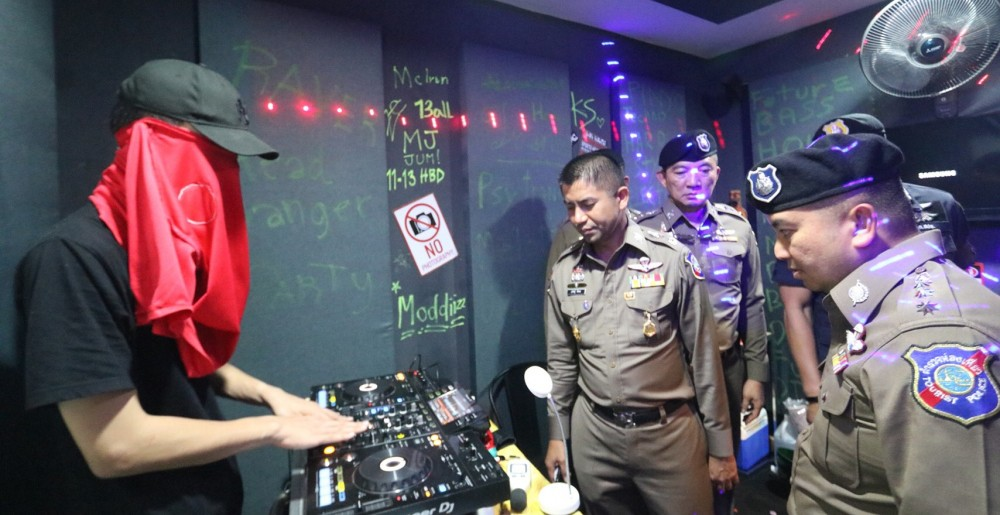 Bangkok drug party busted | News by The Thaiger