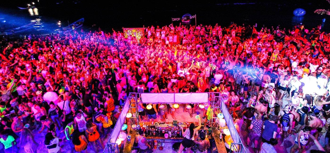 The monthly Full Moon Party still popular   The Thaiger