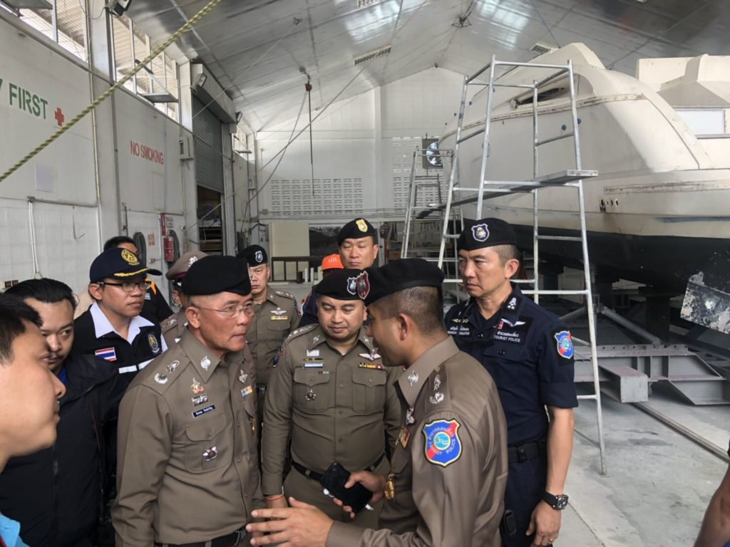 Chinese media invited to Phuket to check on marine safety updates | News by The Thaiger