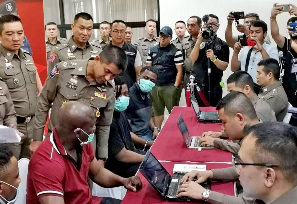 Online romance scam gang busted   News by Thaiger