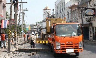 Old Phuket Town goes underground | The Thaiger