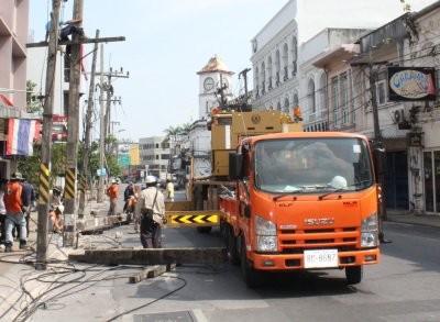 Old Phuket Town goes underground   The Thaiger