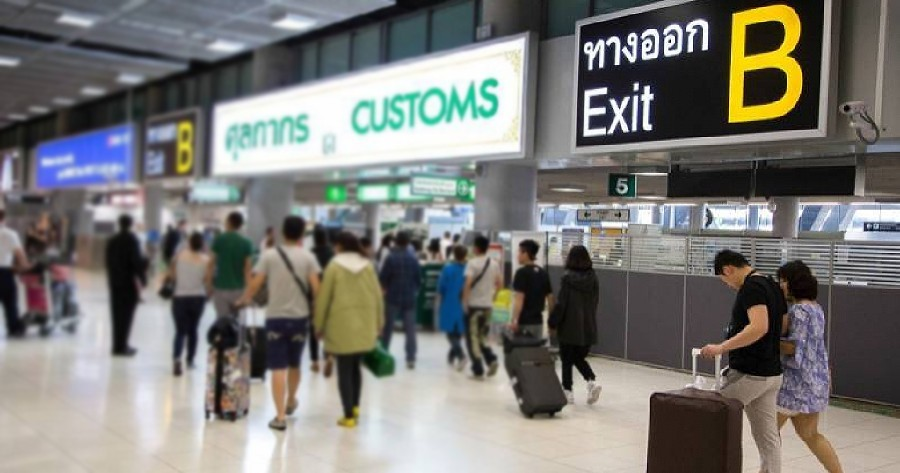 Traveling tax dodgers – Immigration & Customs want you to pay import duty   The Thaiger