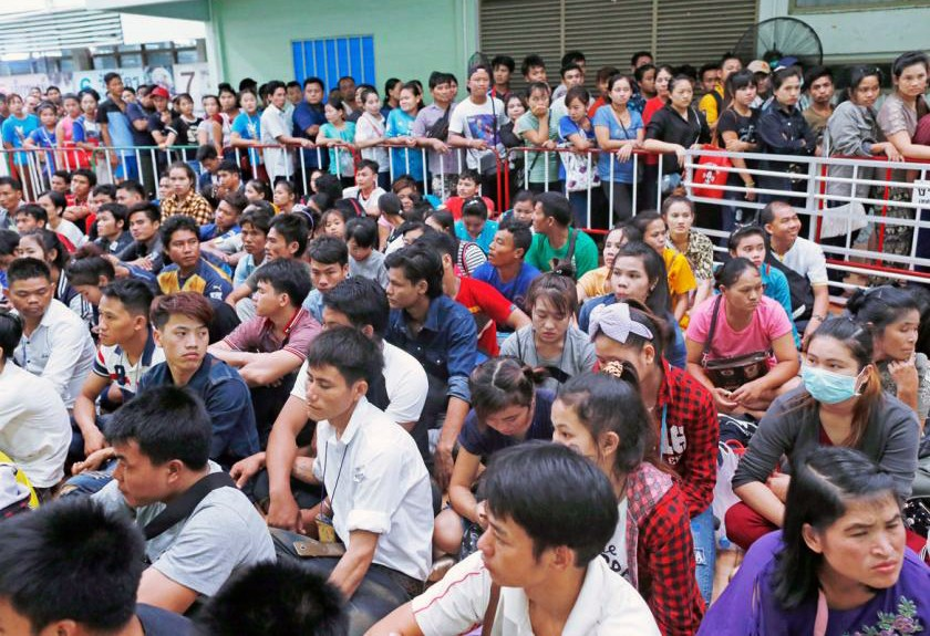 Illegal migrant workers rounded up - employers fined | News by The Thaiger