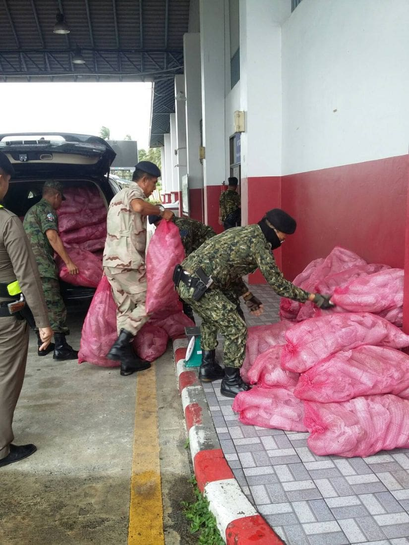 780kg of kratom seized at Phuket Checkpoint in separate incidents   The Thaiger