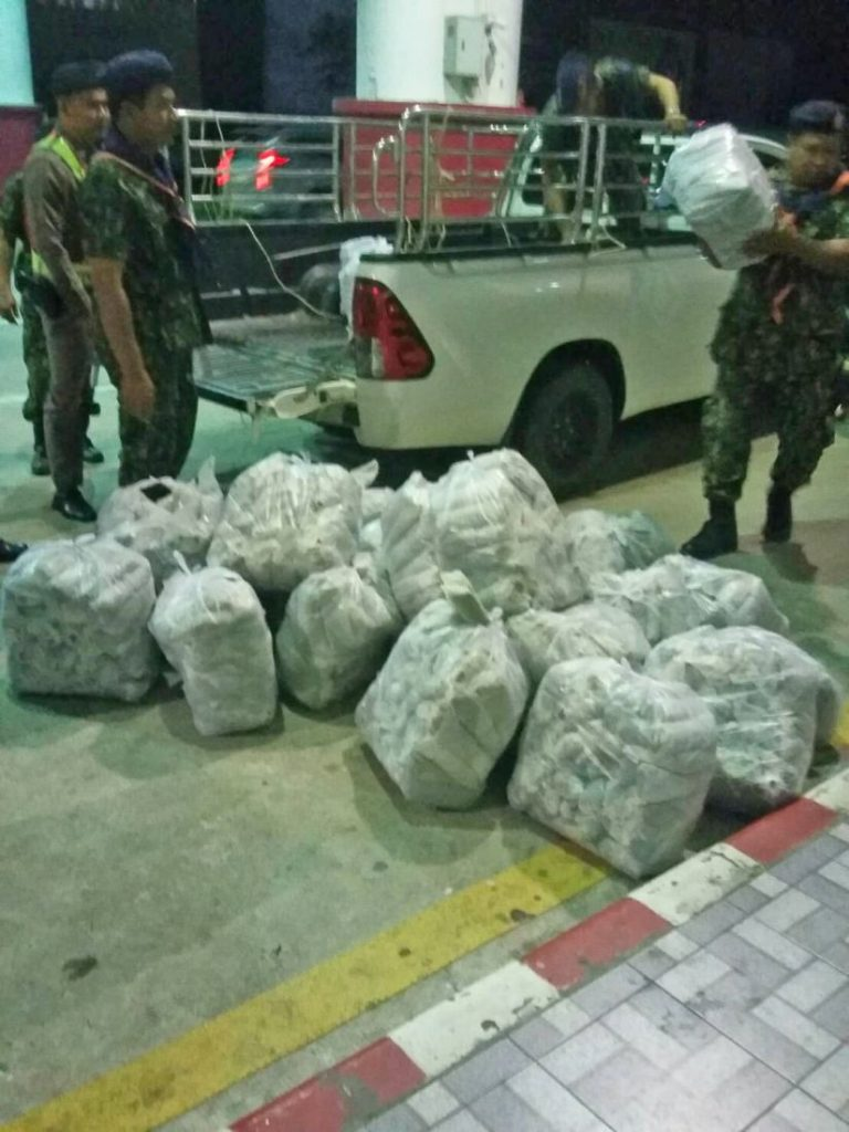 780kg of kratom seized at Phuket Checkpoint in separate incidents   News by The Thaiger